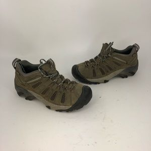 Keen Voyager Leather Hiking Trail Shoes Lace up